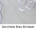 Servilleta Bies Bordado